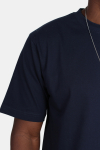 Basic Brand Oversize T-shirt Blue Navy