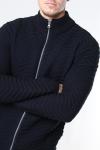 Denim Project Zip Cardigan Black