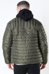 Only & Sons Paul Quilted Highneck Jakke Olive Night