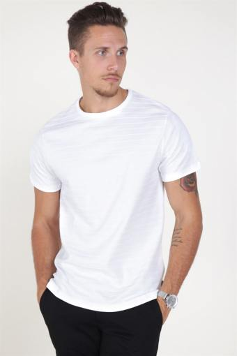 Jack & Jones Gerard Bla. Crew Neck T-shirt White