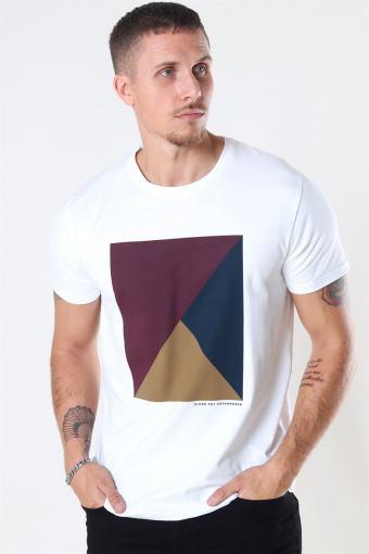 Riley Stretch T-shirt Wine