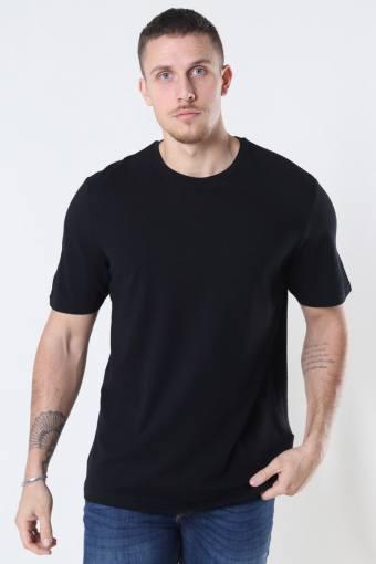 Millenium Life Reg SS T-shirt Pique Black