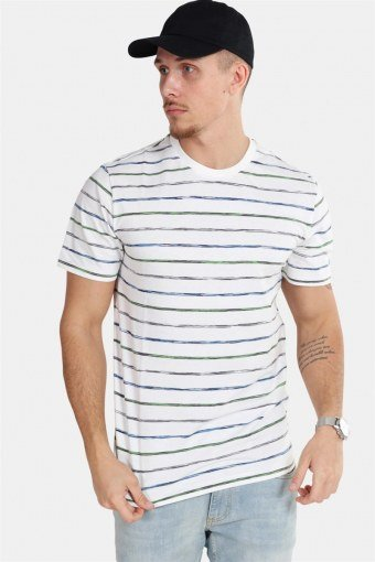 Leonard Stripe SS T-shirt White