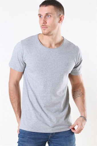 Austin Loose Fit T-shirt Grey Melange