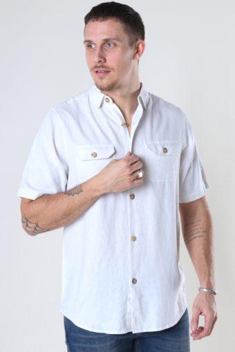 DP Linen ss shirt 002 White