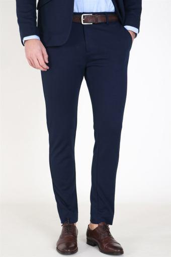 Milano Jersey Pants Navy