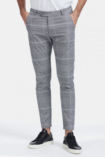 Lugano Suit Pants Grey/Black