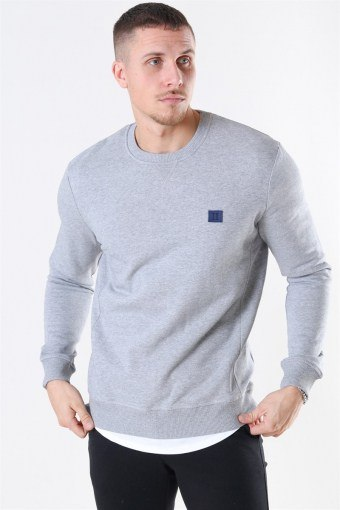 Grey Melange Piece Sweatshirt