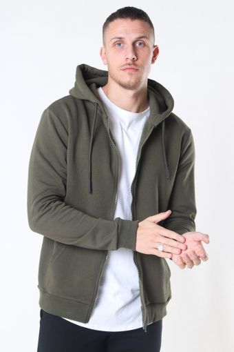 Ceres Life Zip Hoodie Olive Night