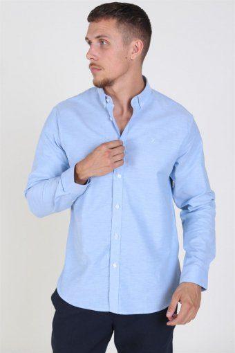 Oxford Plain Skjorte Light Blue