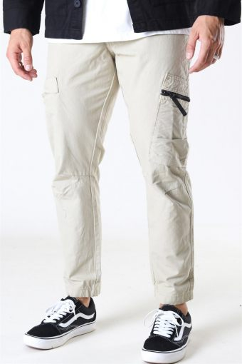Tech Cargo Pants Silver Grey
