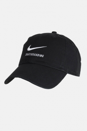 SB H86 Twill Cap Black/White