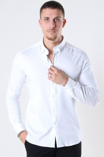 Mos Mosh Marco Jersey Skjorte White
