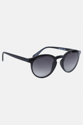 Fashion 1385 Mat Black Solbrille Grey Gradient