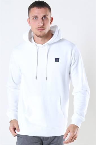 Basic Organic Hoodie White