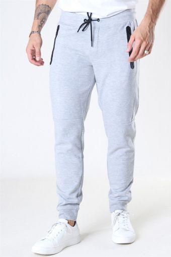 Jack & Jones Will Sport Sweat Pants Light Grey Melange