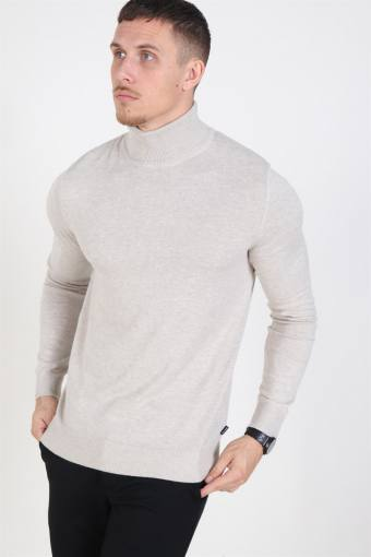 Jack & Jones Emil Rullekrave Strik Oatmeal