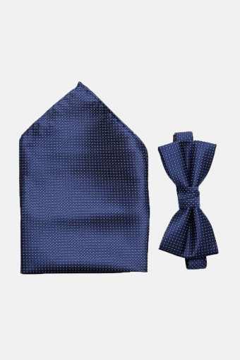 ShdWilly Basic Butterfly/Lommeklud Box Navy Blazer Comb 4