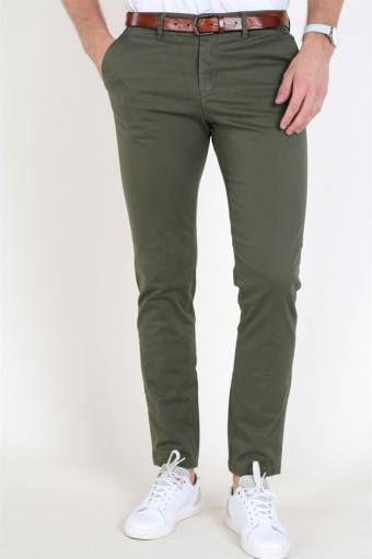 Marco Bowie Chinos Olive Night