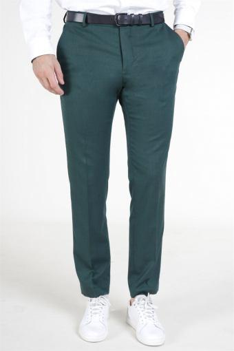 Slim Daxlogan Bukser Medium Green Melange