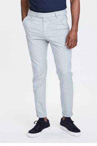 Como Suit Pants Snow Melange