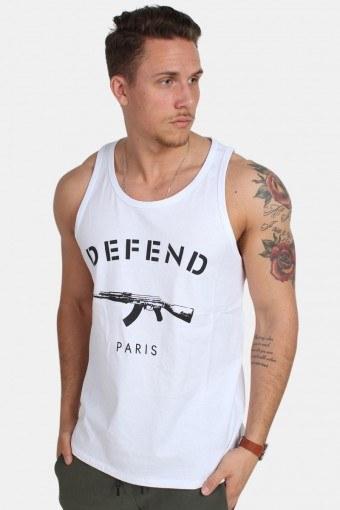 Debardeur Tank Top White