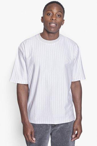 Jabi Stripe Tee Off White