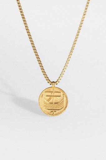 """Saxon-Penny Halskæde """"Gold"""""""