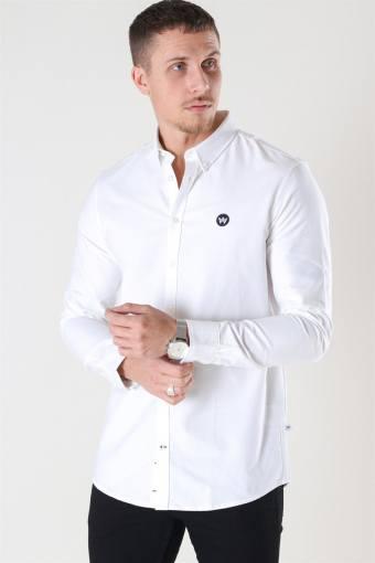 Johan Oxford Skjorte White