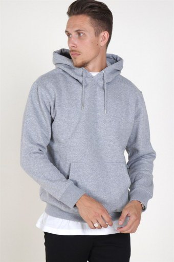 Jack & Jones Soft Sweat Hood Light Grey Melange