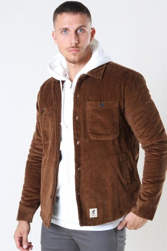 Nordic Shirt LS Brown