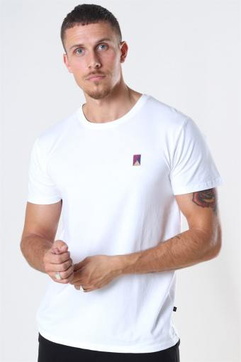 Colin Stretch Tee SS White