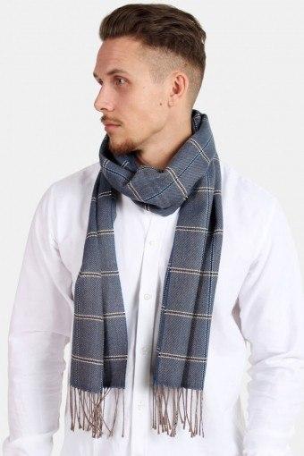 Halstørklæde Pedro Wool Mix Navy