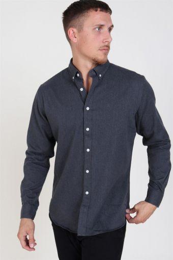 Clean Cut Sälen Flannel Skjorte Charcoal