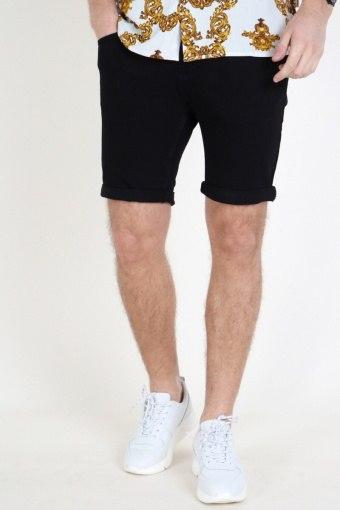 Wood Bird Motta Black Shorts Black