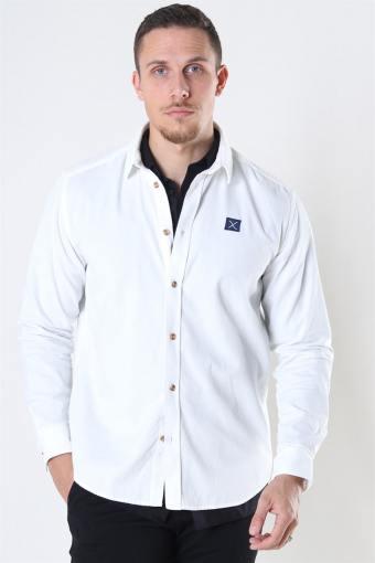 Corduroy Shirt LS Ecru
