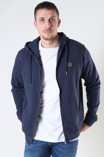 Copenhagen Basic Organic Zip Hood Navy