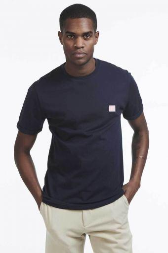 Piece T-shirt Dark Navy Rose