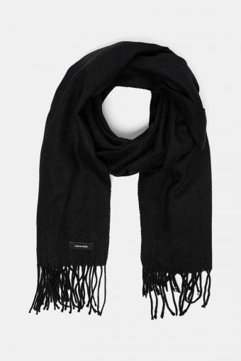 Solid Woven Halstørklæde Black