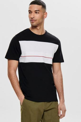 Lemar SS T-shirt Black