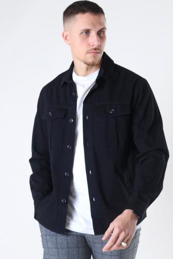 Loke Overshirt Black