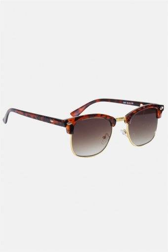 Fashion Clubmaster 1397 Solbrille Brown Havana/Shiny Gold
