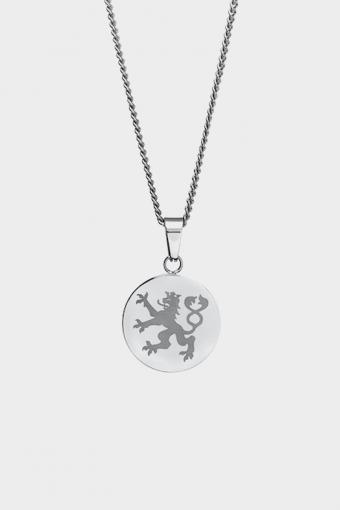 Lionheart Pendant Halskæde Silver