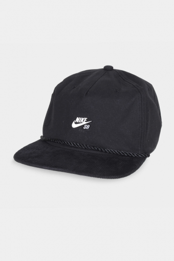 SB Waxed Canvas Cap Black/Black