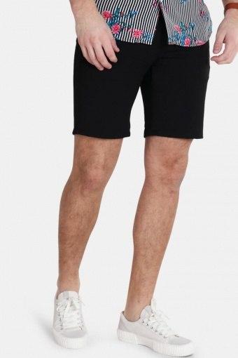 Steffen Twill Shorts Black