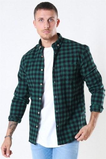 Johan Check Gr. 18 Skjorte Green