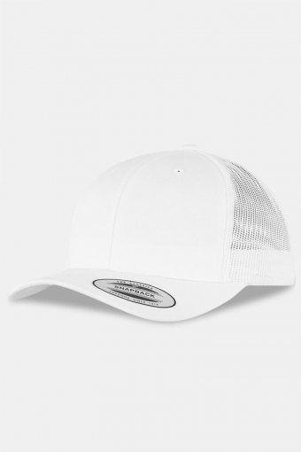 Flexfit Retro Trucker Cap White