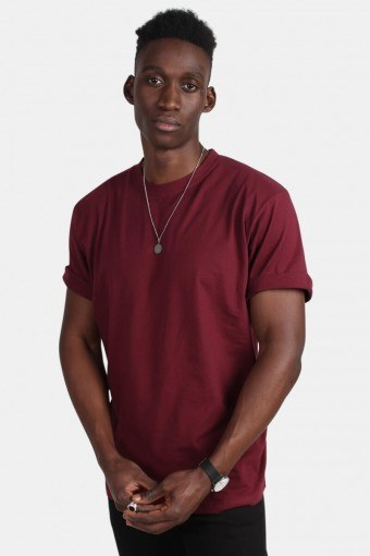 Oversize T-shirt Burgundy