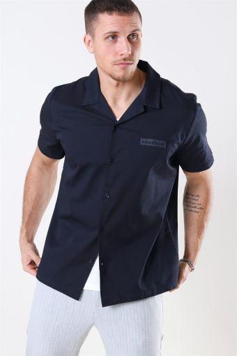 Lil Cuban Skjorte Navy
