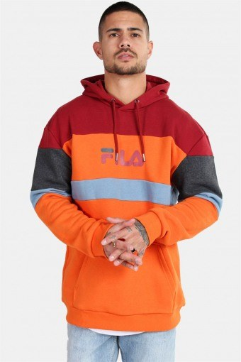 Men Larry Hooded Sweat Harvest Pumpkin